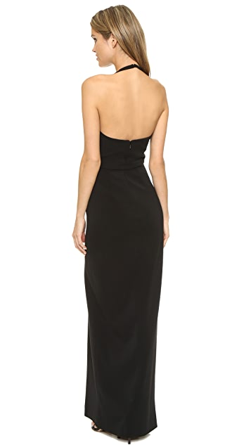 Badgley Mischka Collection Colorblock Gown
