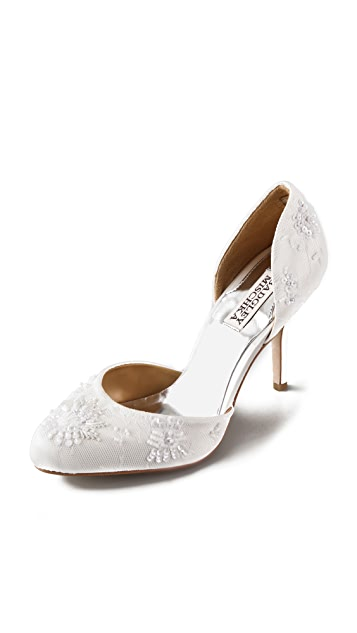 Badgley Mischka Stryker Lace d'Orsay Pumps