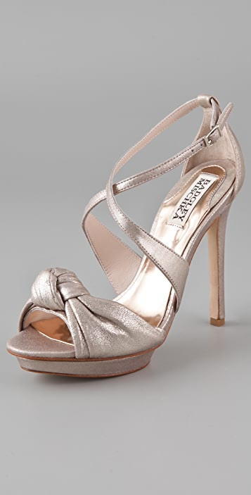 Badgley Mischka Wallis Platform Sandals