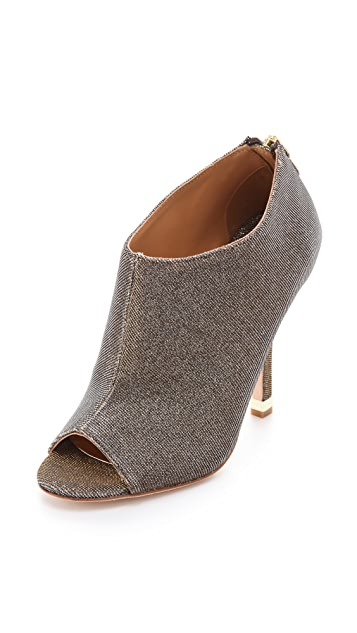 Badgley Mischka Mysti Peep Toe Booties