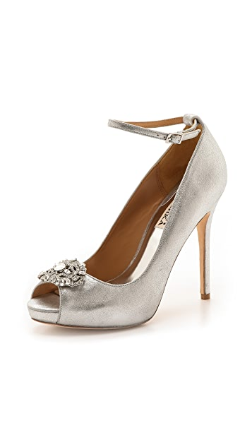 Badgley Mischka Finley II Peep Toe Pumps