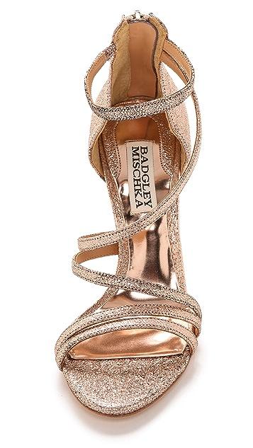 Badgley Mischka Landmark II Strappy Sandals