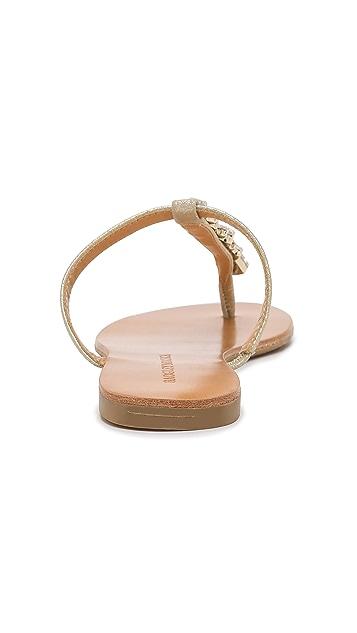 Badgley Mischka Maycee Flat Thong Sandals