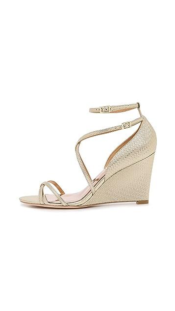 Badgley Mischka Melany II Wedge Sandals