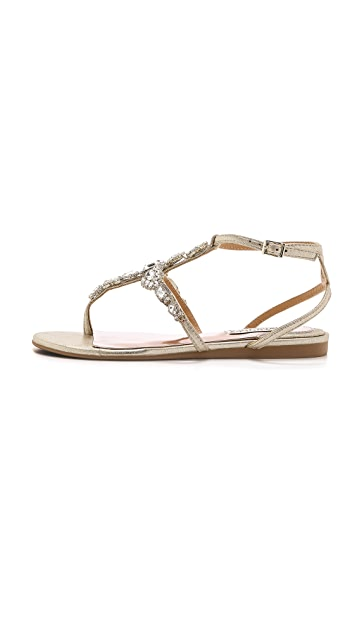 Badgley Mischka Melinda II Flat Sandals