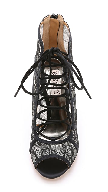 Badgley Mischka Sherry Lace Booties
