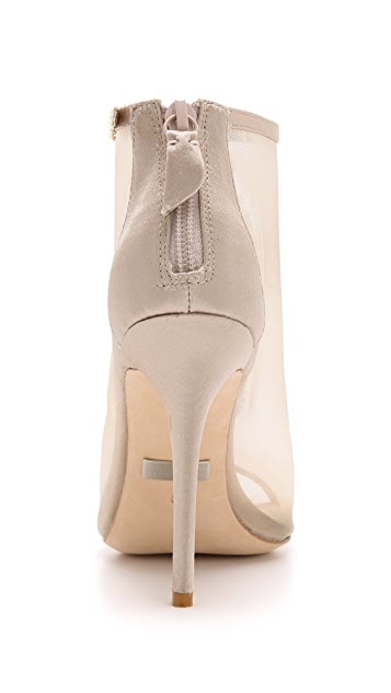 Badgley Mischka Rana Mesh Booties