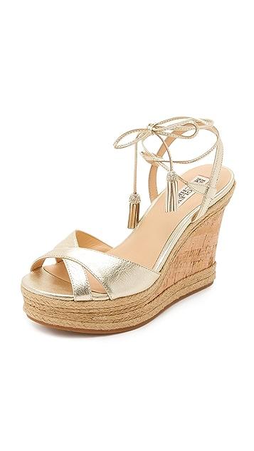 Badgley Mischka Cece Wedge Sandals