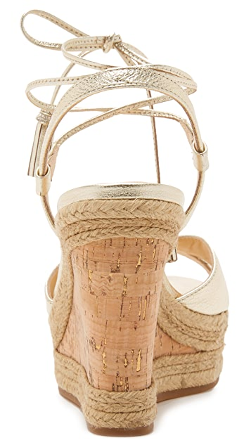Badgley Mischka Cece Wedge Sandals