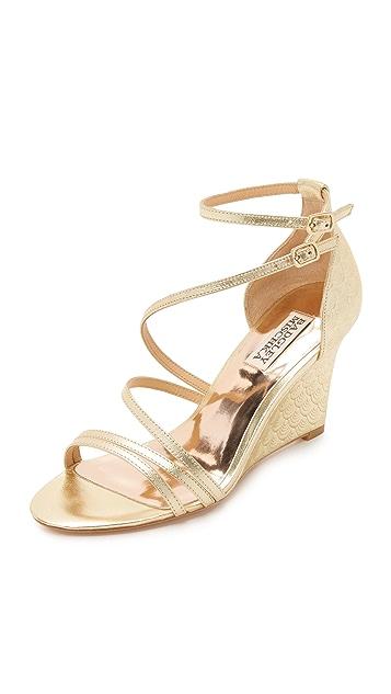 e780f6943 Badgley Mischka Carnation II Wedge Sandals