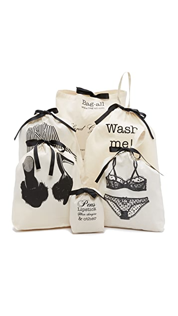 Bag-all Women's Weekend Getaway Set