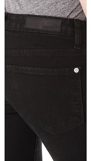 Baldwin Denim The Rivington Skinny Jeans with Zip