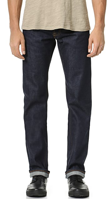 Baldwin Denim Reed Dry Classic Straight Jeans