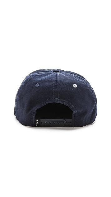 Baldwin Denim Rep Your Hood NY Snapback Cap