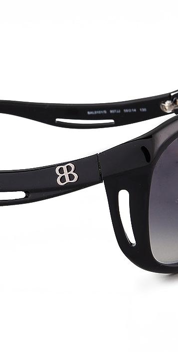 Balenciaga Plastic Cat Eye Sunglasses