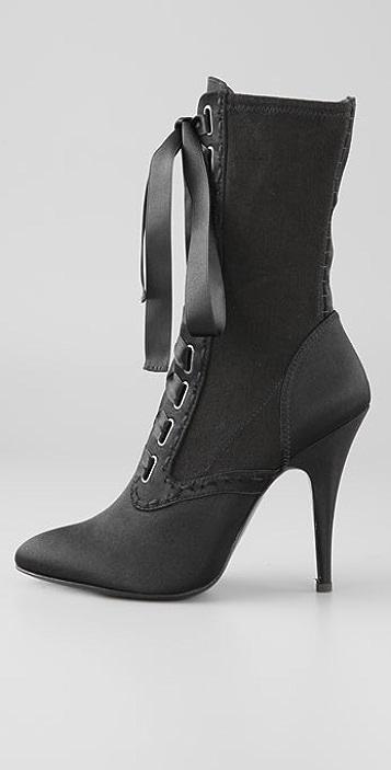 27cb0ff4a9e ... Balmain Giuseppe Zanotti for Balmain Lace Up Boots ...