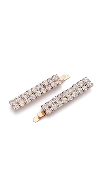 ban.do Austrian Crystal Bobby Pins