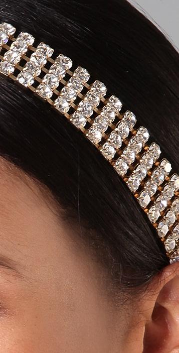 ban.do Crystal 4 Row Headband