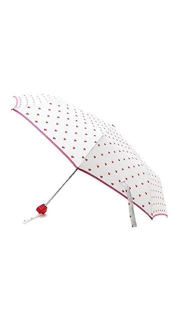 ban.do Rain or Shine Super Cute Hearts Umbrella