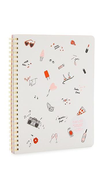 ban.do Rough Draft Mini Notebook