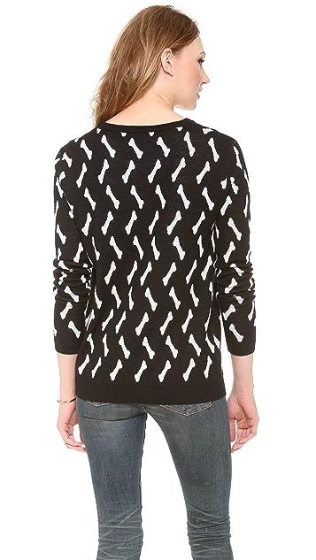 Banjo & Matilda Bone Cashmere Sweater