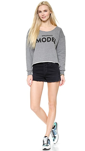 Barber Sweatpants Model Sweatshirt