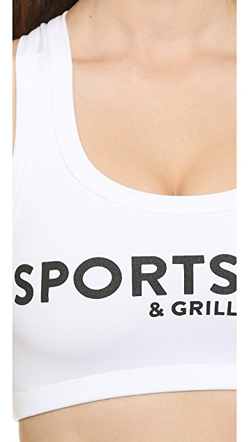 Barber Sports Bra and Grill Bra Top