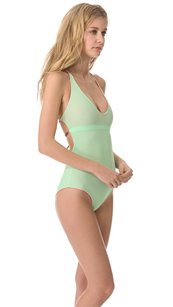 Basta Surf Julie Henderson x Basta Surf Tartane Reversible One Piece