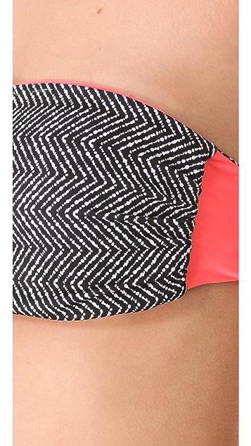 Basta Surf Julie Henderson x Basta Surf Pakala Reversible Bikini Top