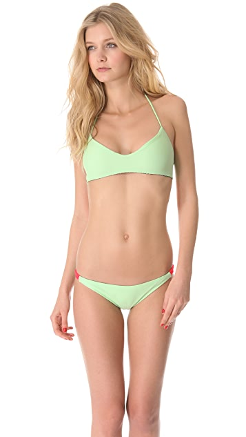 Basta Surf Julie Henderson x Basta Surf Zunzal Reversible Bikini Top