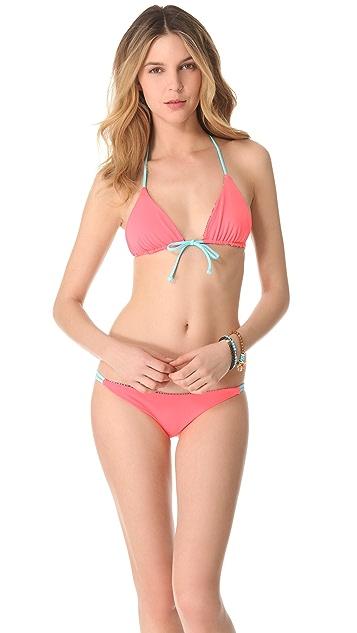 Basta Surf Julie Henderson x Basta Surf Palmas Reversible Bikini Top