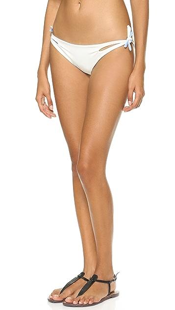 Basta Surf Onfre Reversible Flounce Bikini Bottoms