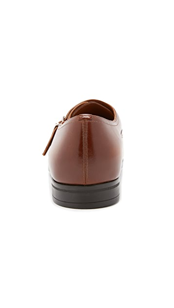 Bally Lanor Monkstrap Shoes
