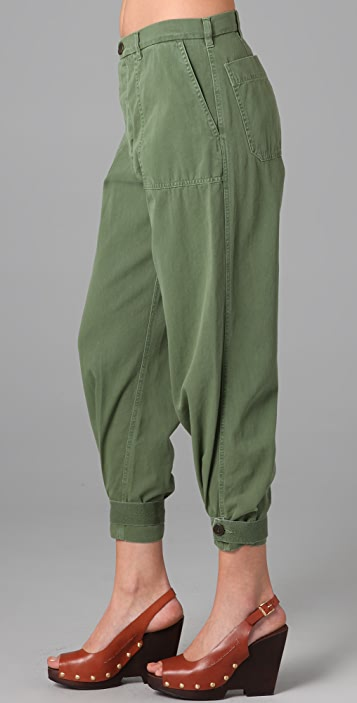 Band of Outsiders Oversized Chinos