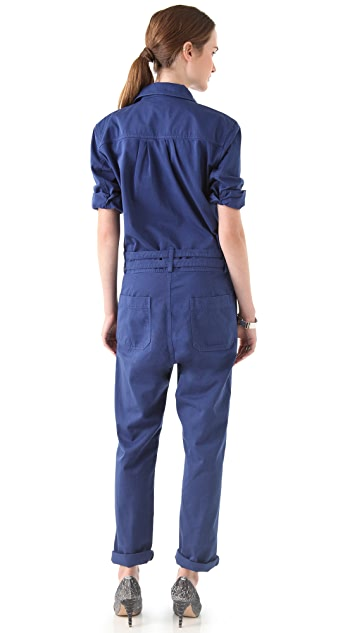 Band of Outsiders Long Sleeve Jumpsuit