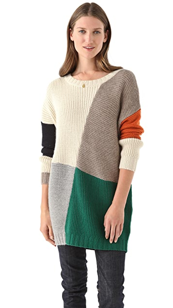 Band of Outsiders Blanket Crew Sweater