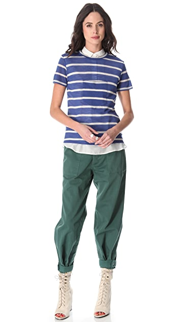 Band of Outsiders Tapered Leg Pants