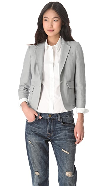 Band of Outsiders Linen & Cotton Blazer