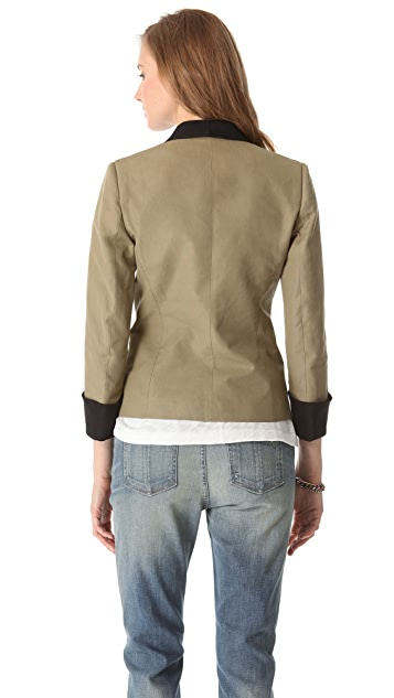Band of Outsiders Shawl Collar Jacket