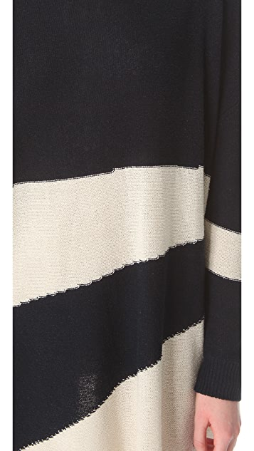 Band of Outsiders Striped Sweater Dress