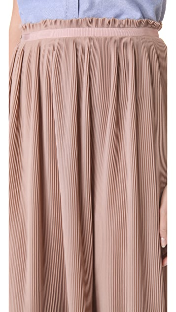 Band of Outsiders Long Maxi Skirt