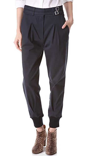 Band of Outsiders Gathered Cuff Pants