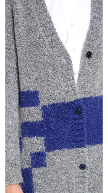 Band of Outsiders Band of Outsiders x Atari Haunted House Cardigan