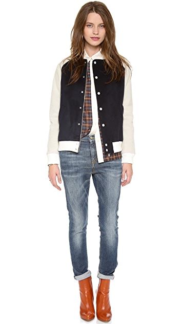 Band of Outsiders Bomber Jacket