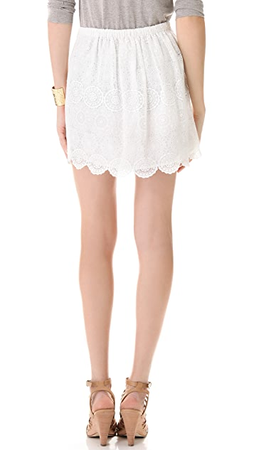 Band of Outsiders Lace Skirt