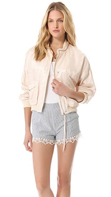 Band of Outsiders Flight Bomber Jacket