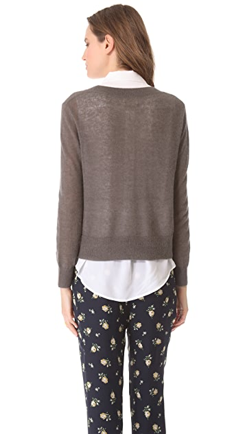 Band of Outsiders Boxy Sweater