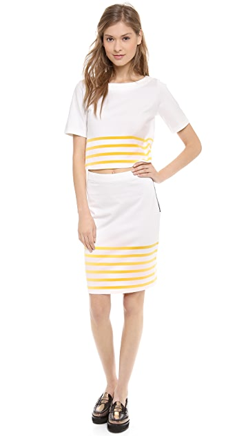 Band of Outsiders Breton Cutout Dress