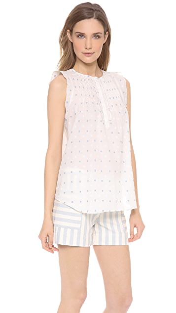 Band of Outsiders Pintuck Blouse