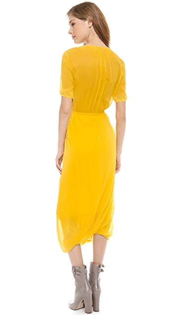 Band of Outsiders Bubble Hem Dress
